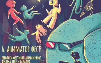 The official poster of the 6th Animator Fest was designed by our dear Marica Kicušić