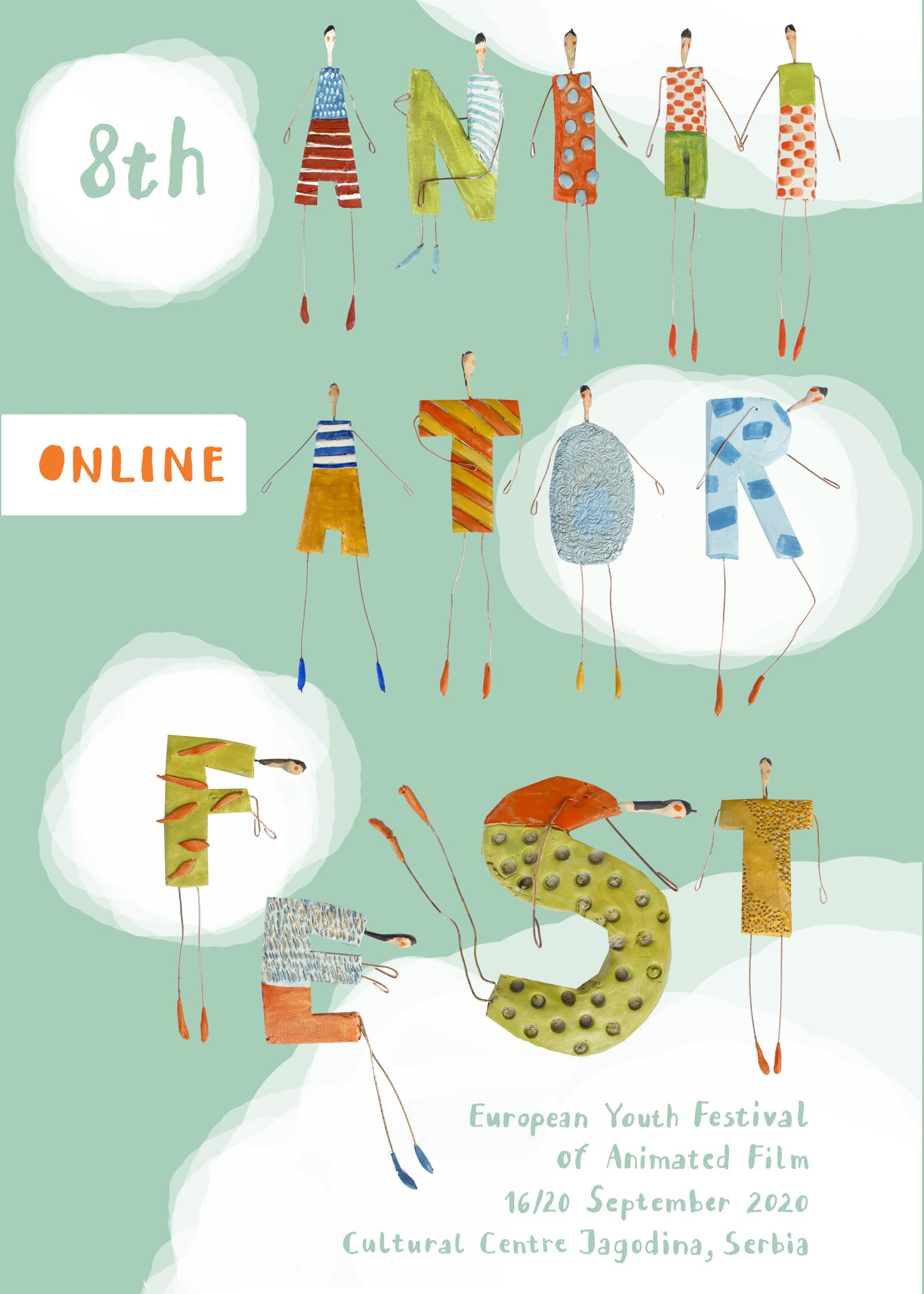 Zvanični plakat 8. Animator festa - official poster of 8th Animator fest